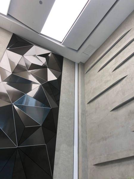 AFP-SUS Finish-Black (Art deco wall)