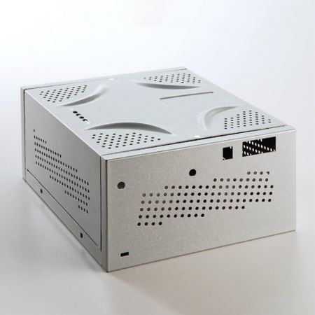 Laminated steel product for building material - computer case