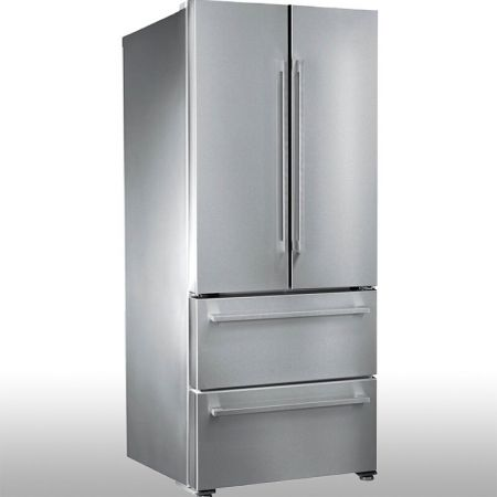 Laminated steel product for building material - fridge door panel