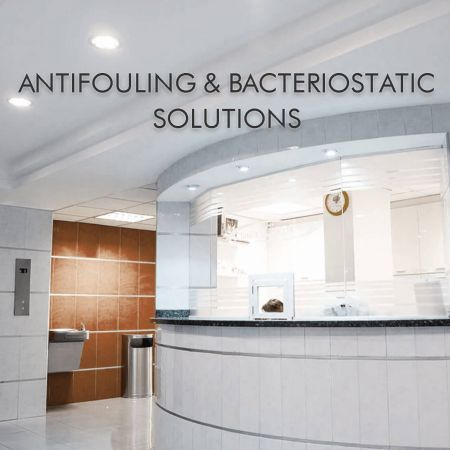 Antifouling & Bacteriostatic Solutions - Some of the spaces which include the hospitals, children's rooms, kindergartens, clean rooms need the antibacterial property of the building boards. PVDF laminated metal has many advantages contain antibacterial property, Anti-UV, weatherproof, grade 2 incombustibility, waterproof and mildew proof. The PVDF film covers the substrate of metal that lengthen the using life.