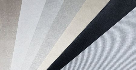 Metallic Series Laminated Metal - Metallic Texture PVC Film Laminated Metal