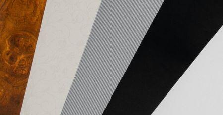 Mirror Series Laminated Metal - Mirror (PVC+PET) Film Laminated Metal