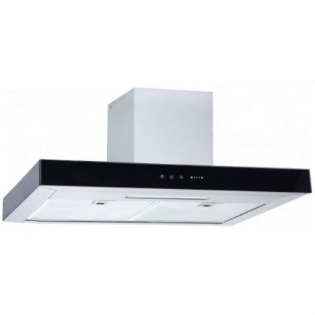 Laminated steel product for range hood panel