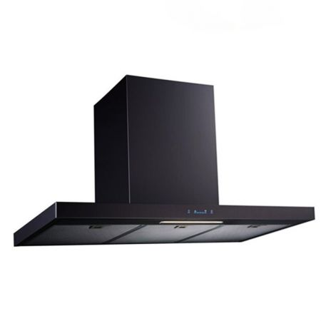 Laminated steel product for range hood panel