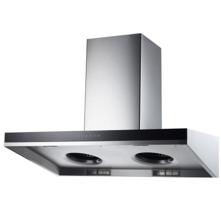 Laminated steel product for building material - range hood panel