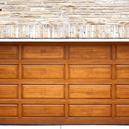 Laminated steel product for building material - roller door