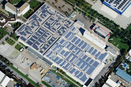 PVDF - Roof Mount Solar Power System