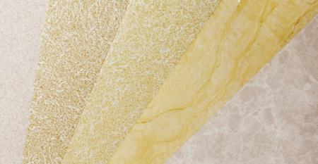 Serie de películas de PVC con textura de piedra - Textura de piedra Película de PVC Laminado Metal