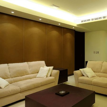 Laminated steel product for building material - wood grain decoration wall panel