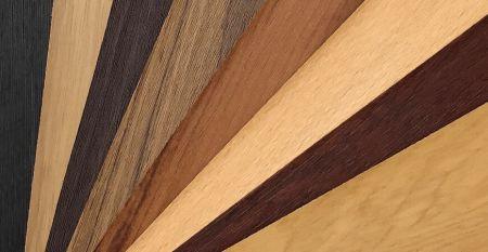 Woodgrain Series Laminated Metal - Woodgrain PVC Film Laminated Metal