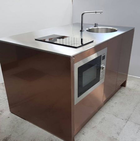 (Anti-fingerprint sus Application- Kitchen home appliance)