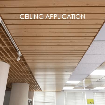 Trần nhà - Việc sử dụng kim loại tráng để làm trần nhà thêm trang trí và độ bền