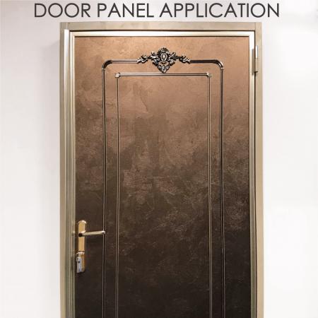 Bảng điều khiển cửa - Thay thế các tấm cửa gỗ bằng kim loại phủ gỗ có thể làm tăng trang trí và độ bền