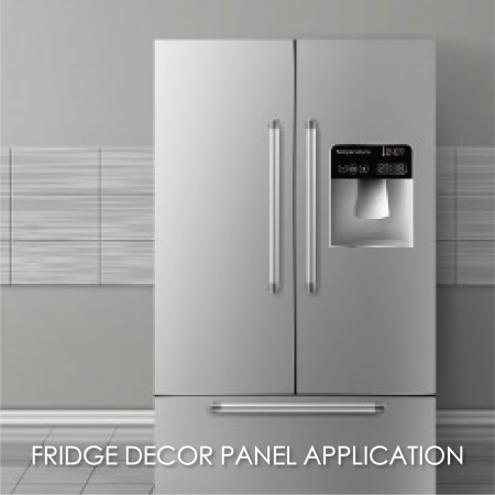 Fridge Décor Panel - Making anti-fingerprint stainless steel for refrigerator panels can increase aesthetics and durability