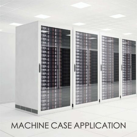 Machine Case - The use of plain coated metal decorative equipment chassis can increase the aesthetic and design sense