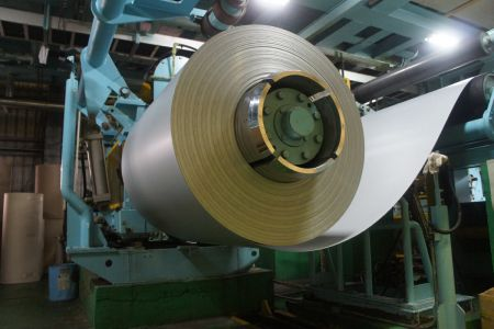 Lienchy Laminated Metal-Steel Roll Feeding Area