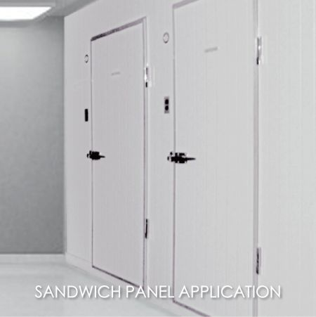 Sandwich Panel - Using laminated metal to make clean room library can create the aesthetics and durability