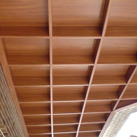 (Laminated Metal Application-Ceiling grille)