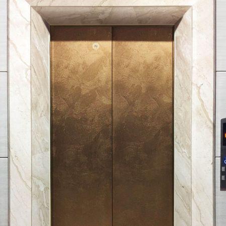 (Laminated Metal Application-Elevator car)