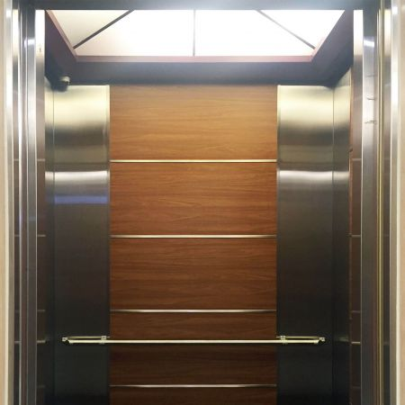 (Laminated Metal Application-Elevator car)