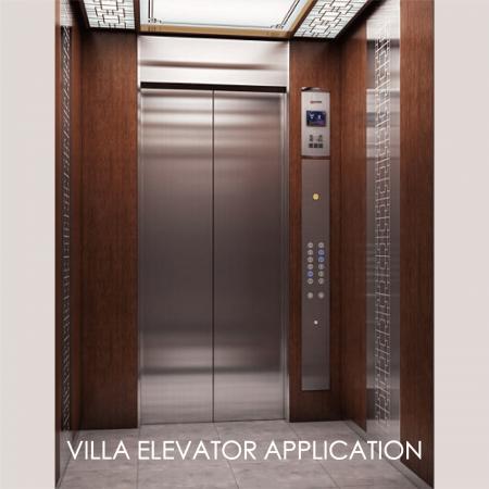 Thang máy - Việc sử dụng kim loại tráng để trang trí bảng điều khiển cửa thang máy có thể làm tăng tính thẩm mỹ và độ bền