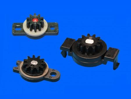 Amortiguadores giratorios de plástico
