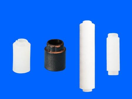 Runde Abstandshalter aus Kunststoff