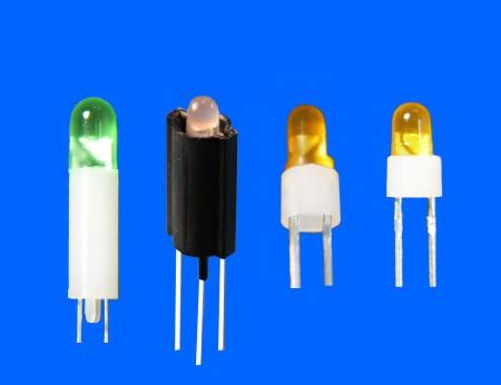 Ø5,2pin LED座