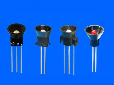 Ø5,2,3pin LED座