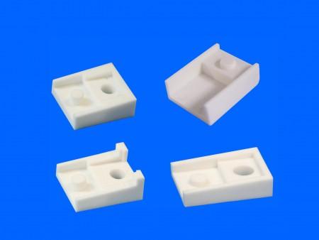 Cubierta de transistor de plástico