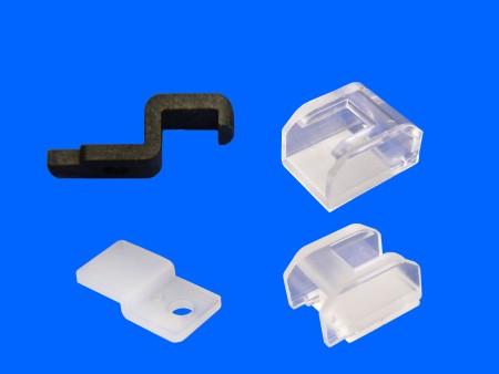 Clip de lámpara de plástico