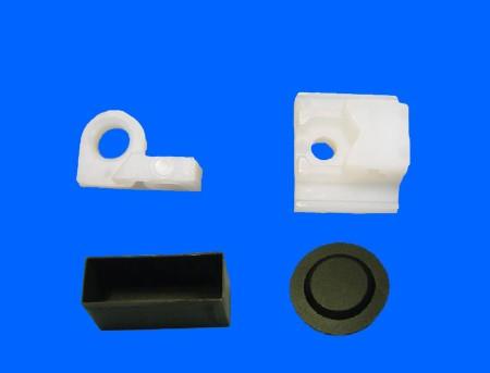 Soporte de interruptor de empuje de plástico
