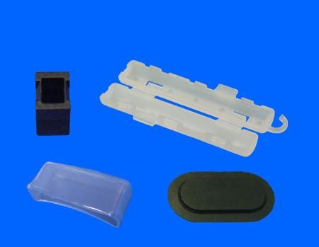 Tapa de aislamiento de plástico
