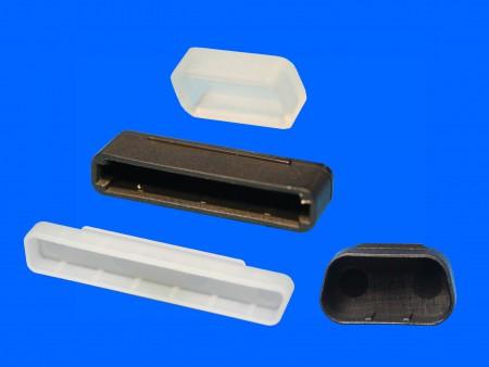 Cubierta de plástico DVI