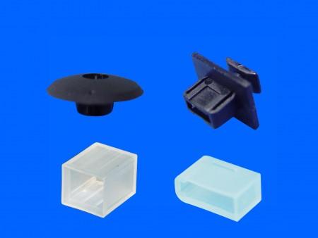 Cubierta de plástico USB