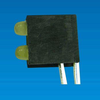LED Housing - LED Holder 2LED-3