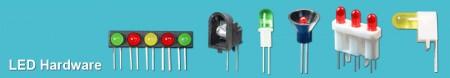 LED-Hardware aus Kunststoff