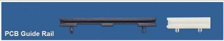 Carril de guía de plástico para PCB