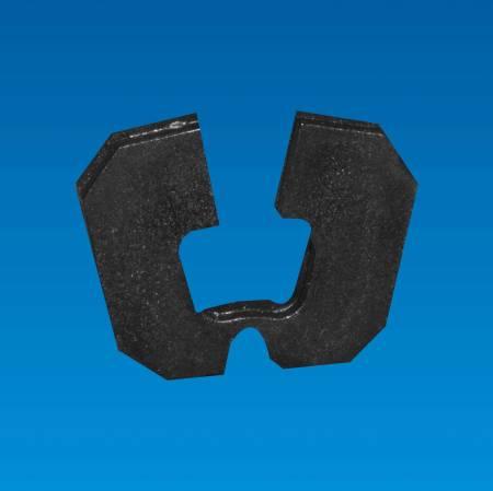 Sillín de borde, forma cuadrada - Sillín Edge DS-4CF