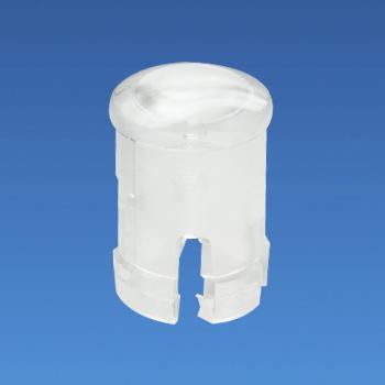 Tapa de LED transparente - Redonda - Casquillo LED EDK-03