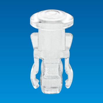 Nắp đèn LED rõ ràng - Tròn - Tapa de LED EDK-3F