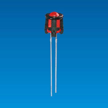 Soporte LED Ø5, 2 pines - Soporte LED Ø5,2pin GLED-5TC
