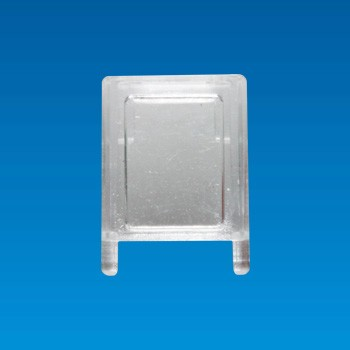 Clear LED Cap - Square - LED Cap LDHD-12MG
