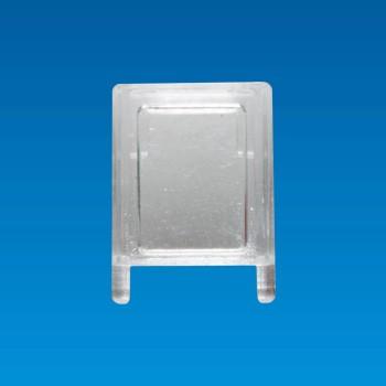 Tapa LED transparente - Cuadrada - Tapa LED LDHD-12MG
