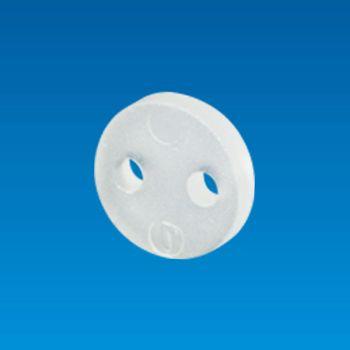 Ø5, 2 pin Cylinder LED Holder - LED Holder LED3-1TF