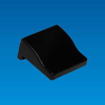 Auswerferabdeckung, Farbe Schwarz und Blau - Auswerferabdeckung MHL-12