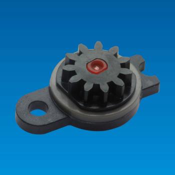 Micro Bi-directional Plastic Rotary Damper