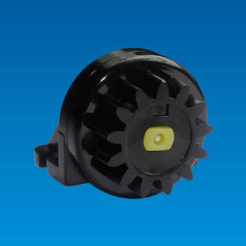 Bi-directional Plastic Rotary Damper
