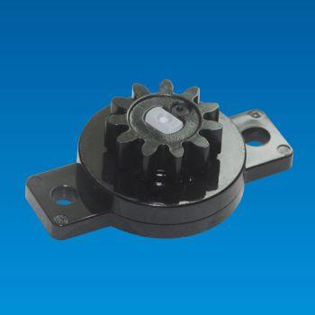 Bi-directional Plastic Rotary Damper - Rotary Damper PG-13QR
