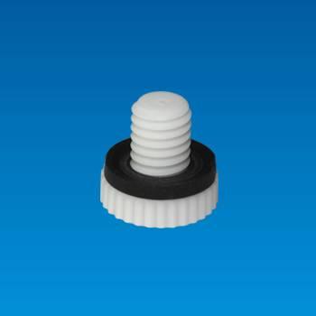 Plastic Nut 塑膠螺帽 - Plastic Nut 塑膠螺帽  S-608W-43-X